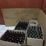 VOTKA - Gönen'de 150 Şişe Kaçak İçki Ele Geçirildi