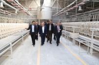 İŞÇİ SAĞLIĞI - Hak-İş Genel Başkanı Mahmut Aslan'dan Turkuaz Seramik'e Ziyaret