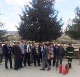 İŞ GÜVENLİĞİ UZMANI - Hisarcık'ta Milli Eğitim Ve Okul Personeline Yangın Eğitimi