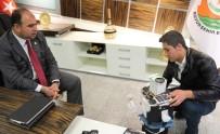 BİLİM MERKEZİ - Hurdadan Robot Yapan Mazlum'a Başkan Çiftçi'den Tebrik
