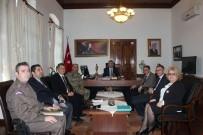 TUGAY KOMUTANI - İlçe Seçim Güvenliği Toplantısı Yapıldı