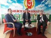 ÇETIN ARıK - İzmir Bornova Belediye Başkanı Atilla'dan Kayseri Gazeteciler Cemiyeti'ne Ziyaret