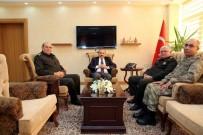 İBRAHIM AYHAN - Korgeneral Ata Kalkan, Vali Ustaoğlu'nu Ziyaret Etti