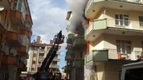 Malatya'da Korkutan Ev Yangını