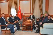 METE YARAR - Malatya Valisi Mustafa Toprak'a Ziyaret