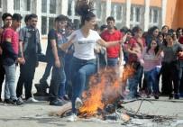 MEHMET TOPÇU - Nevruz Ateşinde Renkli Görüntüler