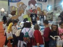 KITAP FUARı - Osmanelili Öğrenciler Kitap Fuarında