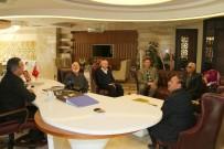 TÜRKIYE SAKATLAR DERNEĞI - Sivil Toplum Kuruluşları Rektör Bağlı'yı Ziyaret Etti
