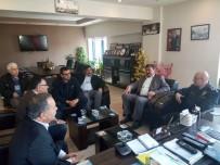 KOCABAŞ - Söke Emniyet Müdürü Haşimoğlu'ndan Oda Ziyaretleri