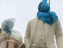 Süleymanpaşa Belediyesi'nden çöp poşetli heykel açıklaması