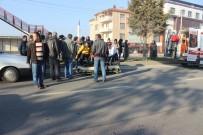 Tavşanlı İlçesinde Otomobilin Çarptığı Kadın İşçi Yaralandı