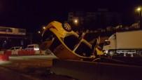 HAYDARPAŞA - Ticari Taksi Takla Attı Açıklaması 1 Ölü, 2 Yaralı
