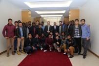 ERCIYES ÜNIVERSITESI - Uluslararası Öğrenciler Başkan Palancıoğlu'nu Ziyaret Etti