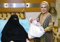 KAYMAKÇı - 15 Temmuz Şehidinin Doğum Yapan Eşini Ziyaret Etti