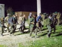 RAKKA - ABD'nin havadan indirdiği YPG'liler