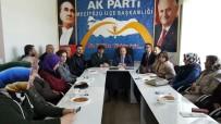 KUVVETLER AYRILIĞI - AK Parti İl Başkanı Karadağ Mecitözü İlçe Teşkilatıyla Biraraya Geldi