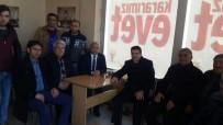 AK Partili Eski Başkan Nevzat Bozkuş, Selim'de Referandum Çalışması Yapıyor