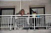 BOSTANLı - AK Partili Kadınlara Saksı Atıldı