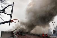 YANGINA MÜDAHALE - Anaokulunda Yangın Paniği