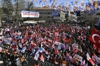 SOSYAL HİZMETLER - Ankara Büyükşehir Belediye Başkanı Gökçek Çubuk'taki Mitingde Konuştu