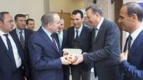 ZEYTİNYAĞI - Aydın Kestanesi Ve Aydın İnciri Bakan Özlü'ye İkram Edildi