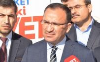 IRKÇILIK - Bakan Bozdağ Açıklaması 'Avusturya'yı Türk Elçiliğinin Güvenliğini Sağlamaya Davet Ediyorum'