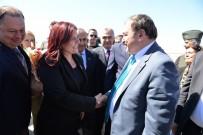 ORMAN VE SU İŞLERİ BAKANI - Başkan Çerçioğlu, Bakan Eroğlu'nu Karşıladı