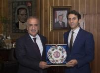 GÖREV SÜRESİ - Başkan Saim Köroğlu'ndan Rektör Çomaklı'ya Veda Ziyareti