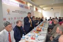 SERKAN YILDIRIM - Başkan Yağcı Ve Ak Parti İl Teşkilatı Üyeleri Yaşlılarla Bir Araya Geldi