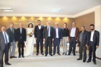 CHP Genel Başkan Yardımcısı Hakkı Süha Okay CHP Merkez İlçe Sekreterinin Kardeşinin Nikâhına Şahitlik Yaptı
