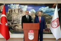 ZIGANA - Cumhurbaşkanı Başdanışmanı Yalçın Topçu, Vali İsmail Ustaoğlu'nu Ziyaret Etti
