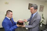 ÜMIT AKKUŞ - Down Sendromlu Ümit'ten Başkan Şirin'e Jest