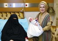 KAYMAKÇı - Emine Erdoğan, 15 Temmuz Şehidinin Doğum Yapan Eşini Hastanede Ziyaret Etti