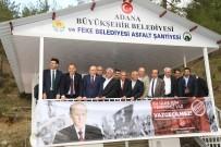 MEVLÜT KARAKAYA - Feke Asfalt Üretim Şantiyesi Açıldı