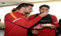 DOĞUM GÜNÜ - Galatasaray, Çift Antrenman Yaptı