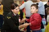 JANDARMA GENEL KOMUTANLIĞI - Jandarma Down Sendromlu Çocuklarla Bir Araya Geldi