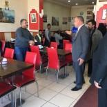 MHP Kars İl Başkanı Yaver Özcan Selim'de Esnafla Buluştu