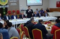 TÜRK METAL SENDIKASı - Milletvekili Eldemir Bozüyük'te Neden 'Evet'İ Anlattı