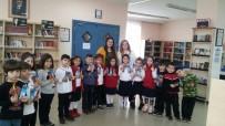 OKUL ÖNCESİ EĞİTİM - Minik GKV'liler Kütüphaneyi Çok Sevdi