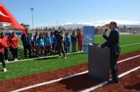 SENTETIK - Okul Sporları Futbol Yarı Final Müsabakaları Başladı