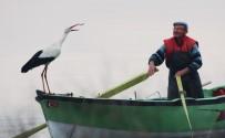 LEYLEK KÖYÜ - Leylek İle Bursalı Balıkçının Hikayesi Film Oluyor