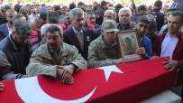 CENAZE - Şehit Asker Son Yolculuğuna Uğurlanıyor