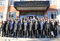 MUSTAFA ŞAHİN - Selçuk'ta Yönetim Kurulu Ve Senato, Kadınhanı'nda Buluştu