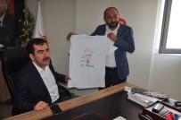 Söke AK Parti'den Erdem'e 'Söke Söke Evet' Tişörtü