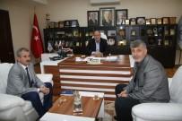 EROL AYDIN - Susurluk Belediye Başkanı Hızlıoğlu'ndan Başkan Dişli'ye Ziyaret