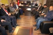 MEHMET KASIM GÜLPINAR - TBMM Avrupa Birliği Uyum Komisyonu Başkanı Kasım Gülpınar, Başkan Demirkol'u Ziyaret Etti