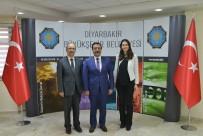 TÜRKIYE BELEDIYELER BIRLIĞI - Türkiye Belediyeler Birliğinden Başkan Atilla'ya Ziyaret