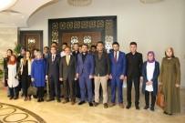 ÖĞRENCİ KONSEYİ - Üniversite Öğrenci Konseyi Ve Üniversite Ülkü Ocakları Teşkilatı Rektör Bağlı'yı Ziyaret Etti