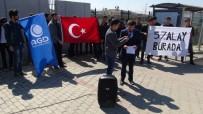 FILISTIN - Üniversiteli Gençlerden Kudüs'te Ezan Yasağına Tepki