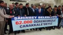 MEHMET TAHMAZOĞLU - 183 Öğrenci Karanfillerle Çanakkale'ye Uğurlandı